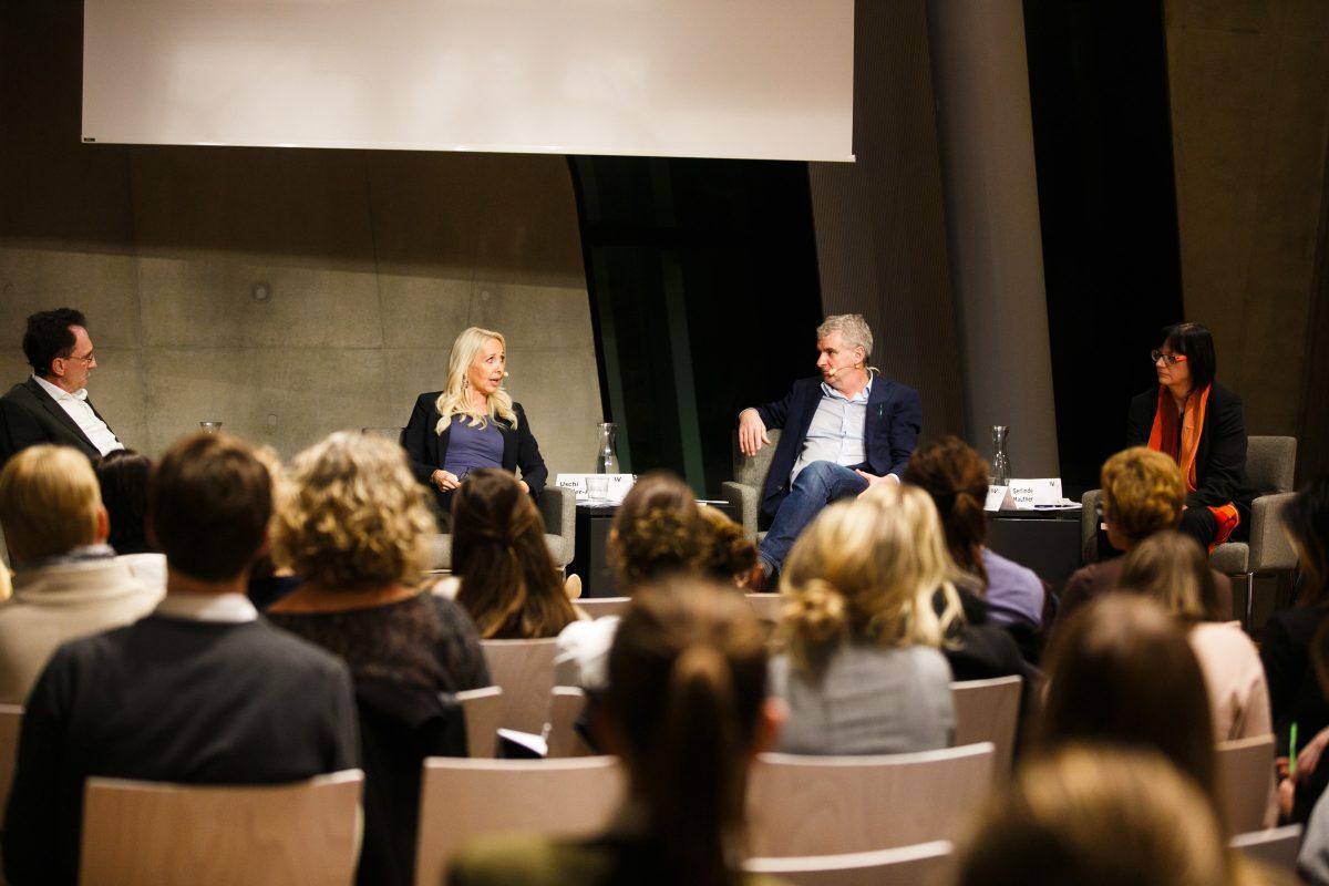 Die Reihe WU matters. WU talks. schafft eine Plattform für Diskurse mit der Öffentlichkeit.