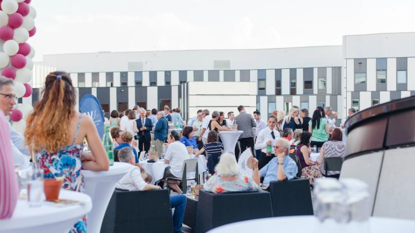 WU Alumni Lounge at the Summer Celebration