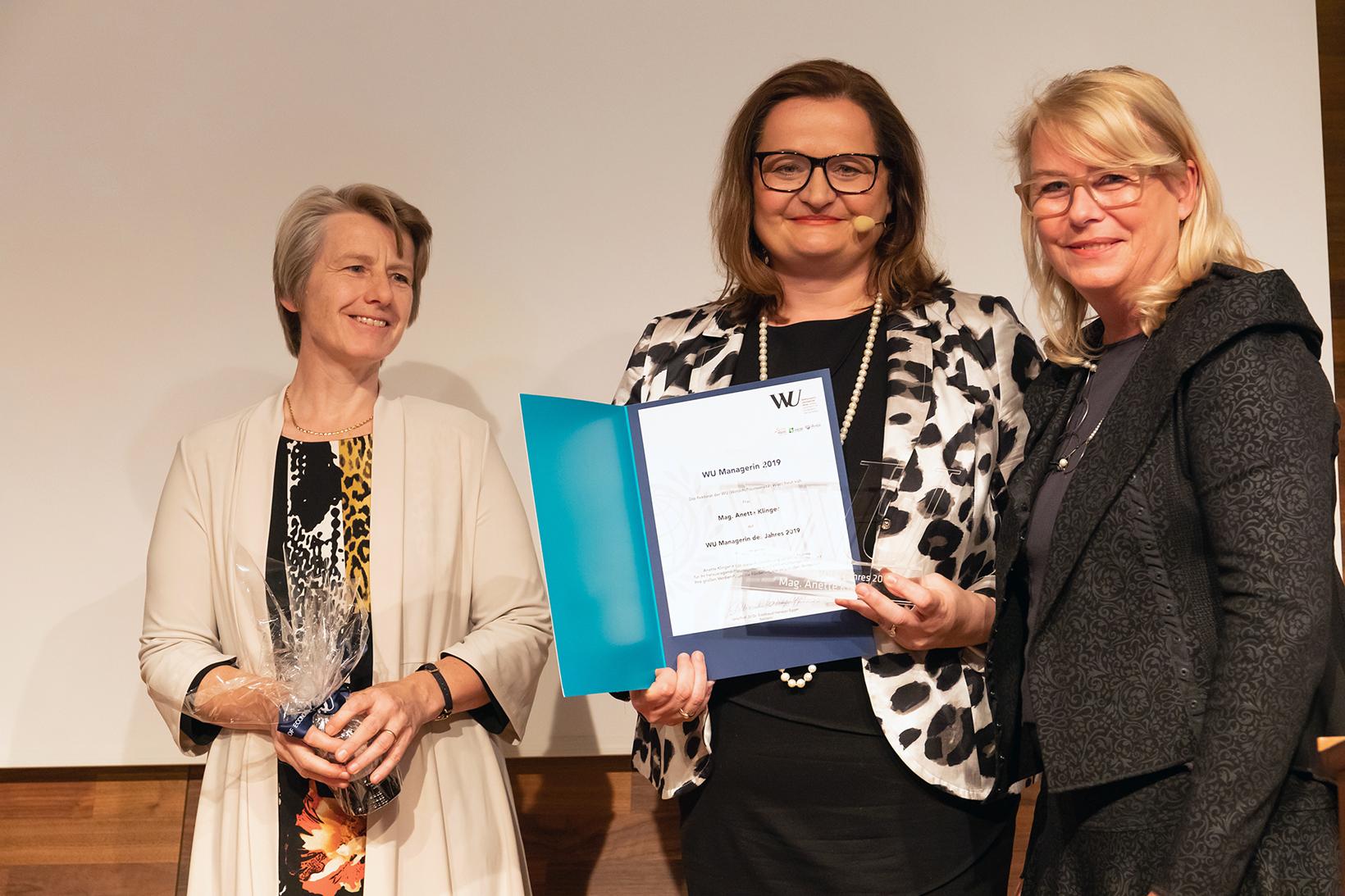 Susanne Kalss, Anette Klinger und Edeltraud Hanappi-Egger
