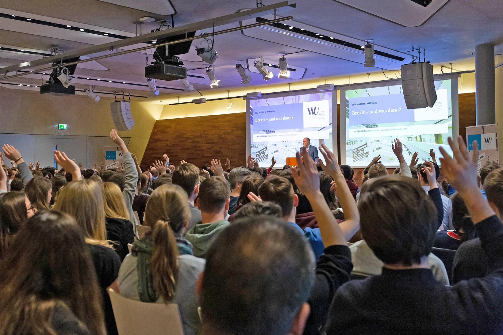 Vortrag mit Publikum