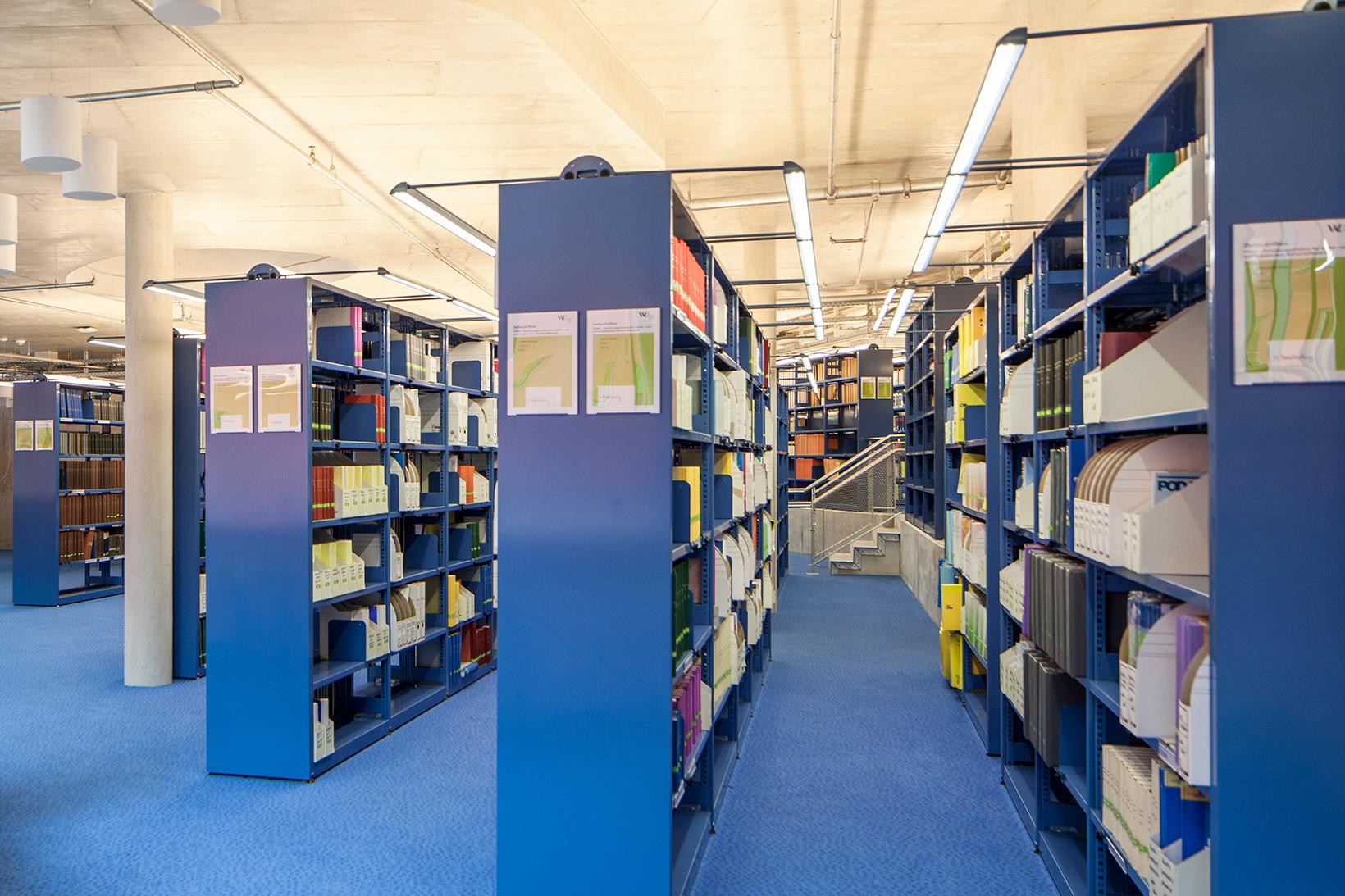 Campus WU, Bibliothek D3 (c) BOAnet