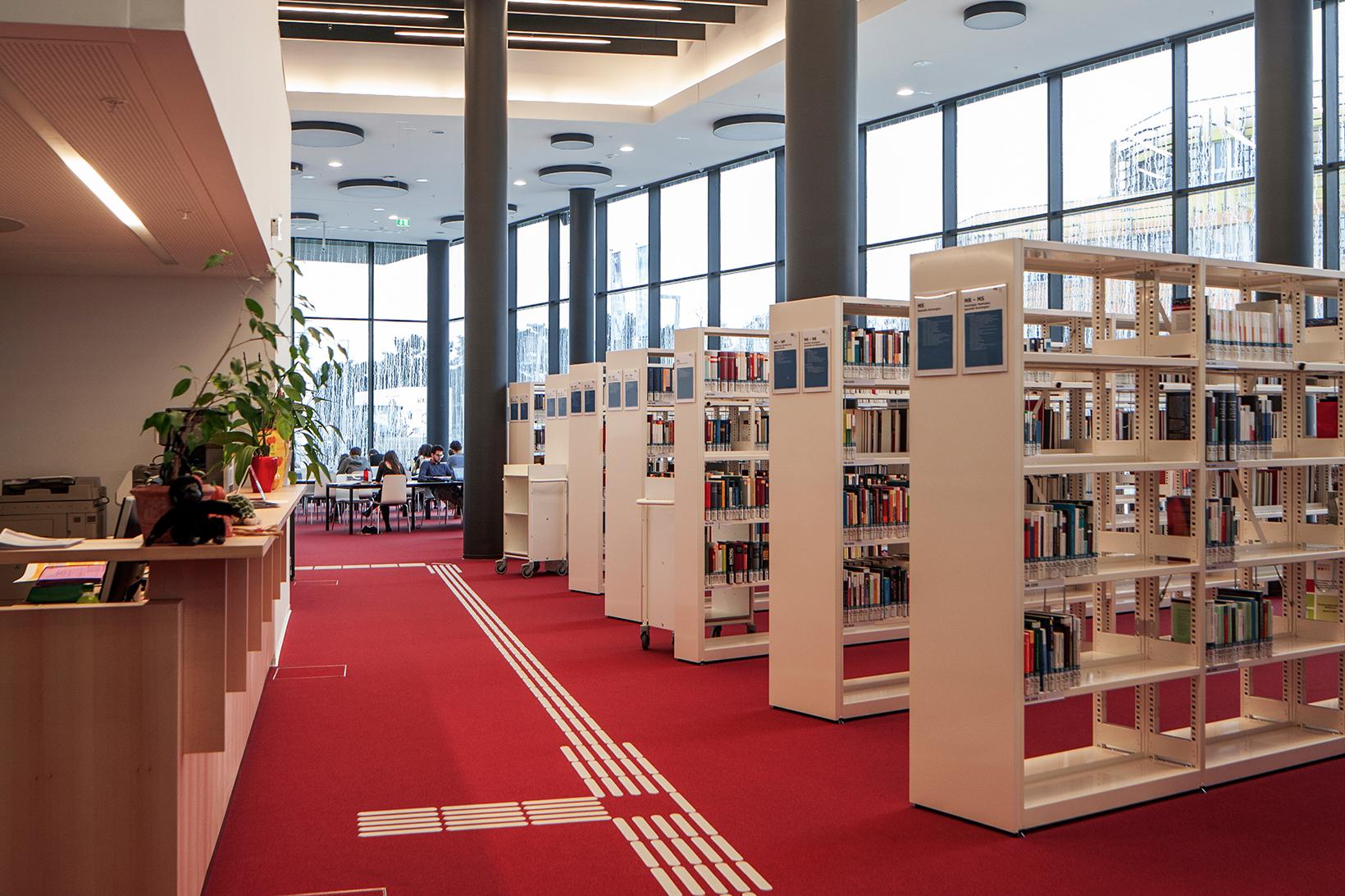 Campus WU, Bibliothek D4 (c) BOAnet