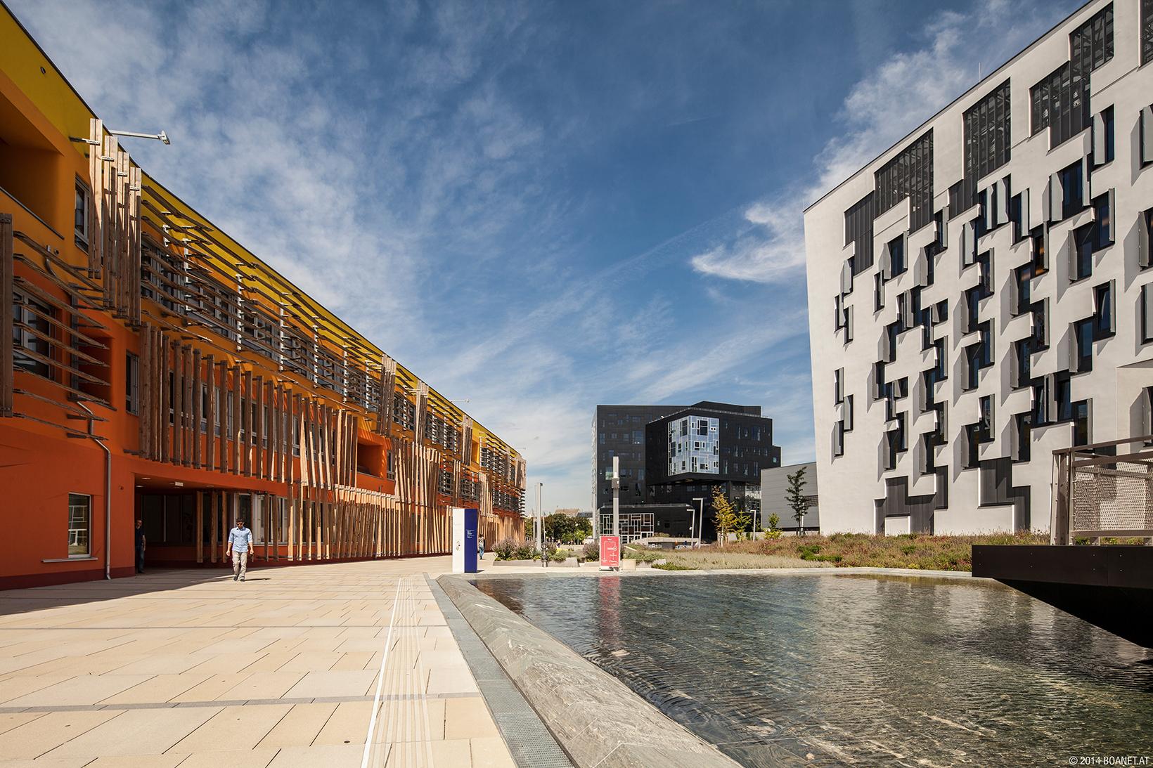Campus WU, Gebäude D3, D4 und EA