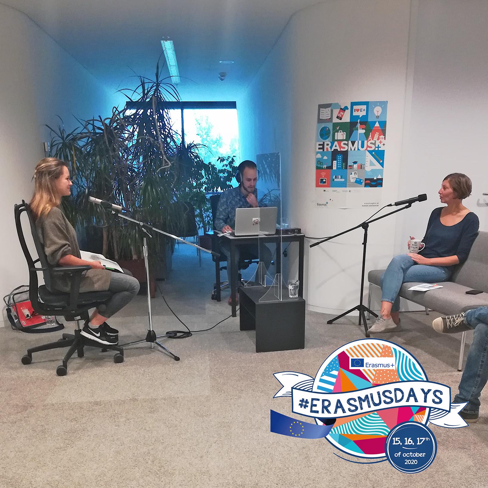 Podcast Erasmus Day